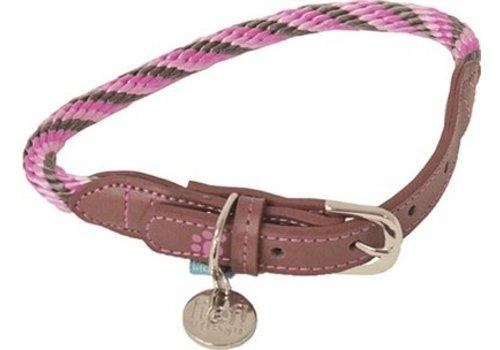 Lief! halsband girls beige / roze