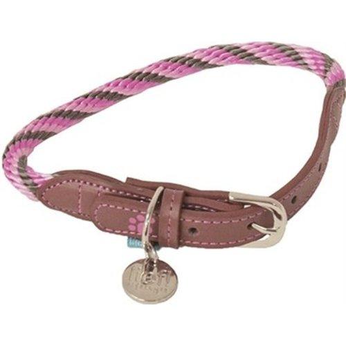 Huismerk Lief! halsband girls beige / roze