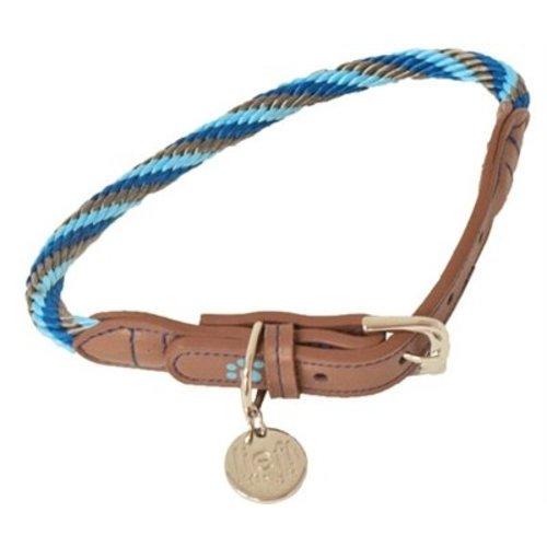 Huismerk Lief! halsband boys blauw / bruin
