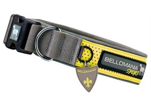 Bellomania sport halsband rupert grijs/geel
