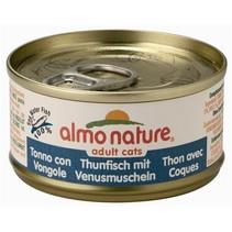 Almo nature cat tonijn/schelpdier