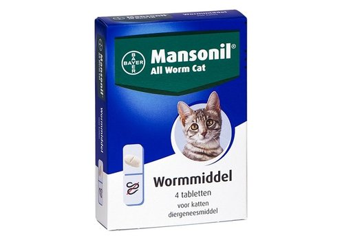 Mansonil kat all worm tabletten