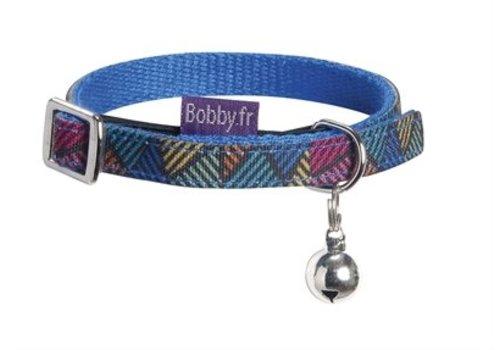 Bobby halsband nylon kat color multi kleur