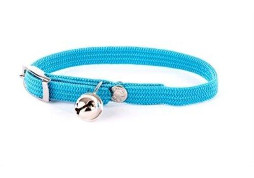 Halsband kat elastisch nylon turquoise