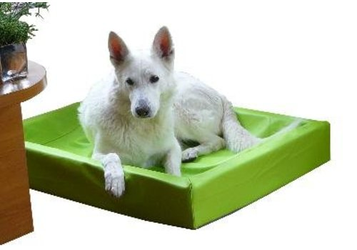 Bia bed hondenmand lime