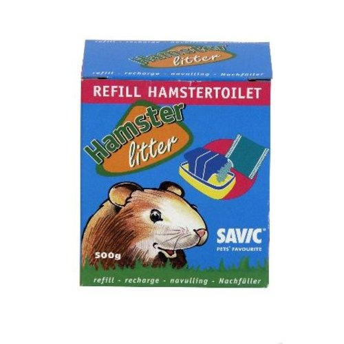 Huismerk Savic hamstertoilet navulling