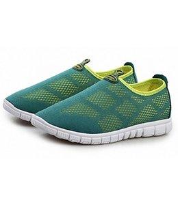 Huismerk Ademende Mesh Sneakers 41 Licht Groen
