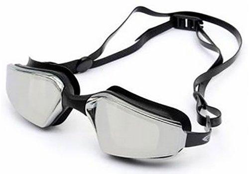 Huismerk Zwemmen Wedstrijdbril Zwart