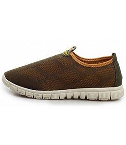 Huismerk Ademende Mesh Sneakers 44 Rood