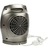 HQ Keramische Ventilatorkachel 750 & 1500 W Grijs