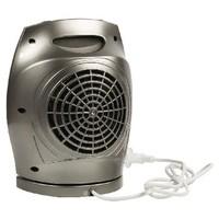 Keramische Ventilatorkachel 750 & 1500 W Grijs