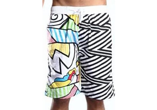 Huismerk Beach Zebra Zwembroek Man Plus Size