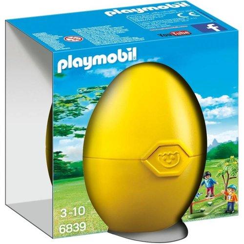 Playmobil Verrassingseieren - Kinderen met slackline