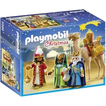 Christmas - 3 koningen met cadeau's