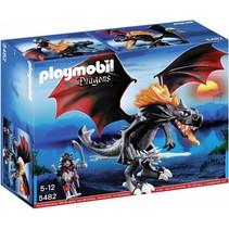 Dragons - Grote koningsdraak met lichtgevende vlam