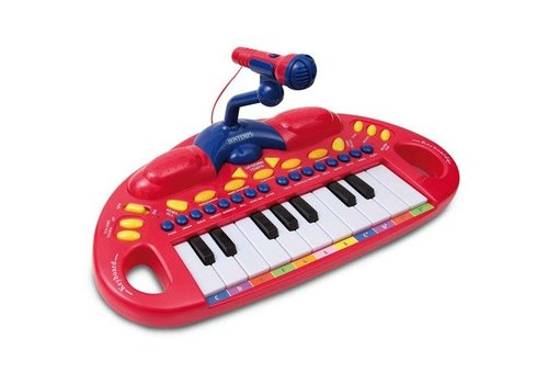 Bontempi Elektronisch Keyboard met microfoon, 18 toetsen