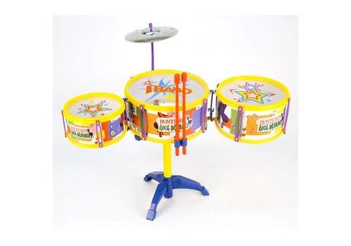 Bontempi Drumset met Cymbalen