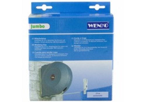 Huismerk Wenko Jumbo Uittrekbare Waslijn, 15m