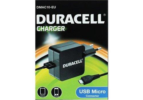 Single USB charger + Micro USB, 1m