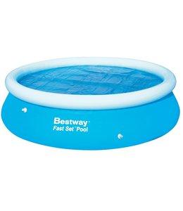 Bestway Zonnedekzeil voor zwembad 305cm.