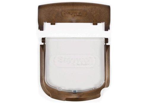 Petsafe luik+frame+batterijkap 300/400/500 houtnerf
