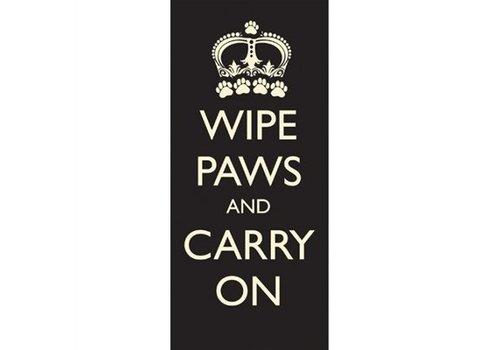 Pet rebellion schoonloopmat wipe paws carry on