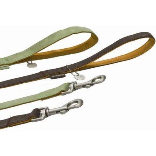 Huismerk Macleather soft touch looplijn bruin