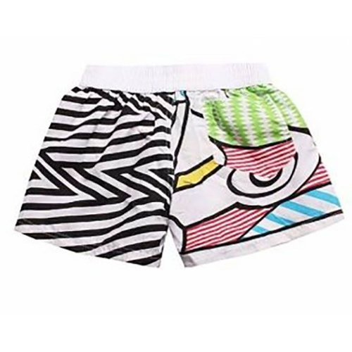 Huismerk Beach Zebra Zwembroek Vrouw Plus Size