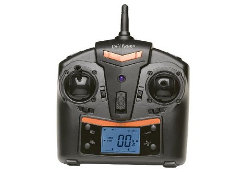 R/C-Drone Gyro Inside / Video 2.4 GHz Control Oranje/Zwart