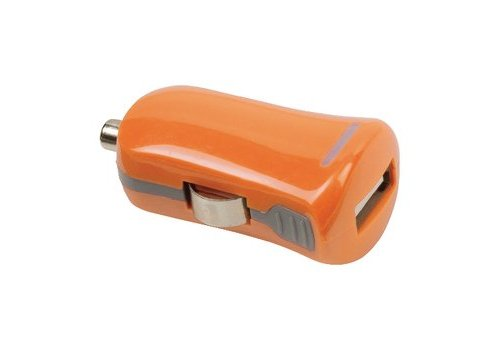Valueline Autolader 1-Uitgang 2.1 A USB Oranje