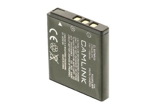 Camlink Oplaadbare Lithium-Ion Camera Accu 3.6 V 1100 mAh