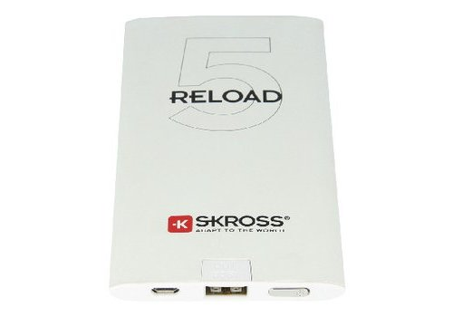 Skross Draagbare Powerbank 5000 mAh USB Wit