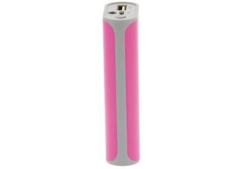 König Draagbare Powerbank 5000 mAh USB Roze
