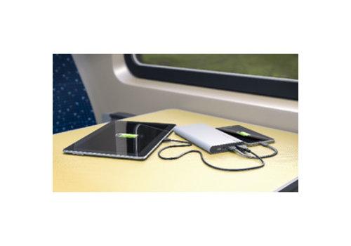 GP Draagbare Powerbank 10000 mAh USB Zilver