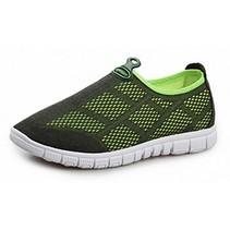 Ademende Mesh Sneakers 42 Zwart/Groen