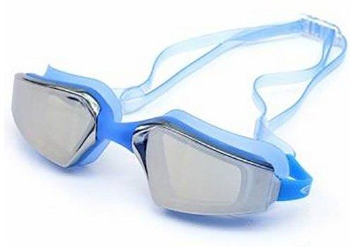 Huismerk Zwemmen Wedstrijdbril Blauw
