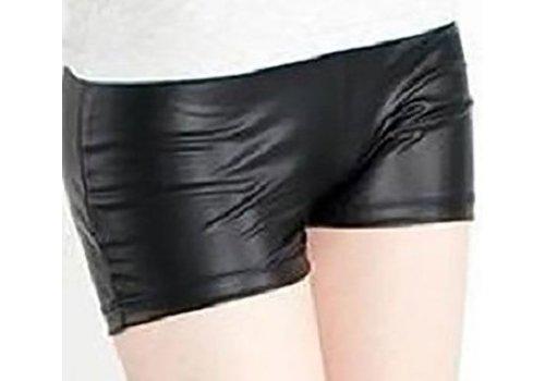 Stretch Korte Legging Zwart