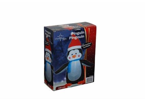 Christmas gifts Pinguin opblaasbaar 120cm
