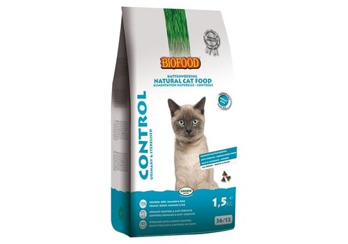 Biofood cat control urinary & sterilised