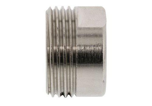 Adapter 1/2 x 3/4 Zilver