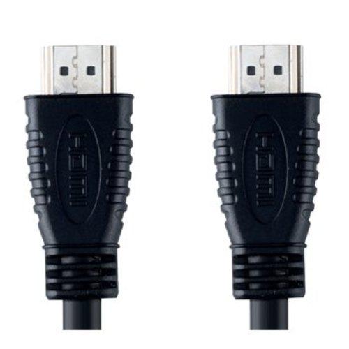 Bandridge High Speed HDMI kabel met Ethernet HDMI-Connector - HDMI-Connector 1.00 m Zwart