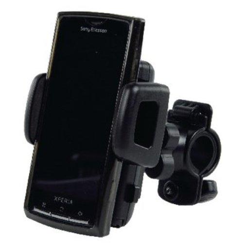 basicXL Universeel Smartphonehouder Fiets Zwart