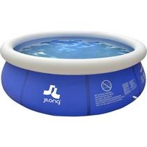 Zwembad Marin set rond blauw 300