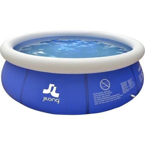 Huismerk Zwembad Marin set rond blauw 300