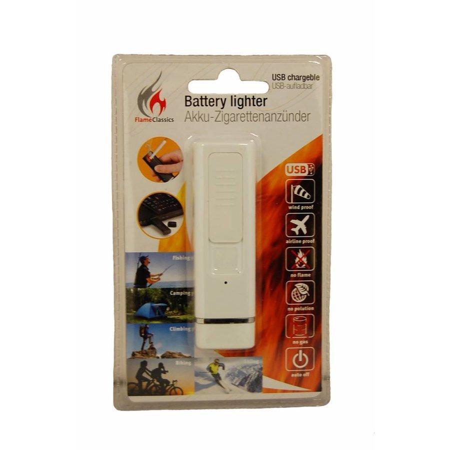 Batterij-aansteker, USB-oplaadbaar