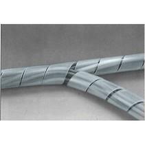 Kabelslangen 50 mm 10.0 m Transparant