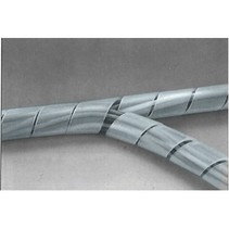 Kabelslangen 65 mm 10.0 m Transparant