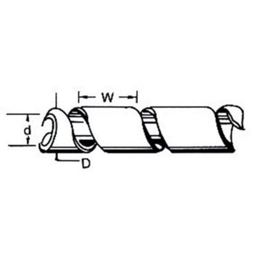 Fixapart Kabelslangen 60 mm 10.0 m Zwart