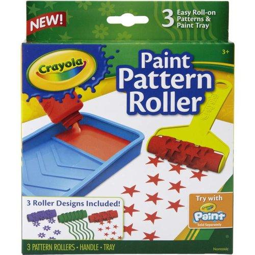 Crayola 3 Verfrollers met patronen