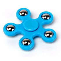 Finger Fidget Spinner Blauw